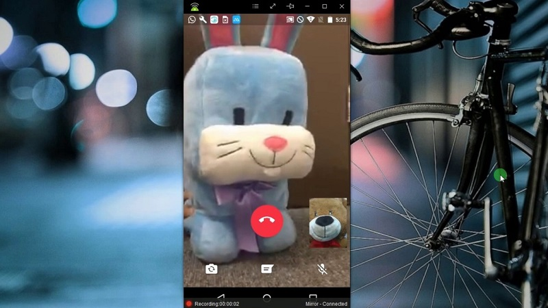 How to record a video call on WhatsApp