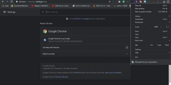 How to turn off dark mode on chrome