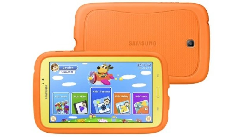 We evaluated the Galaxy Tab 3 Kids