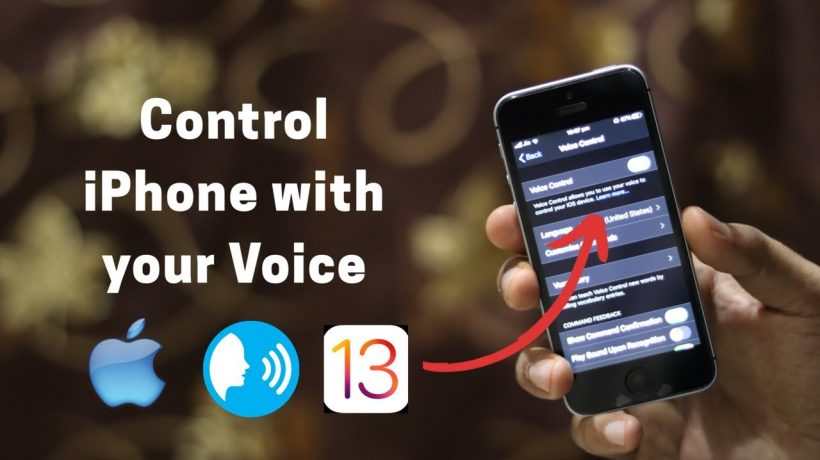 How to use iPhone voice control