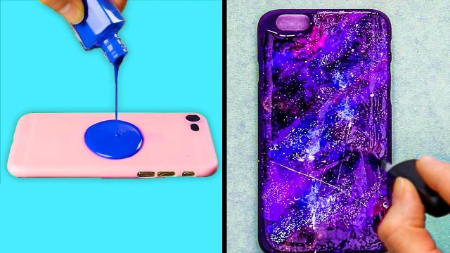 How to decorate a phone case