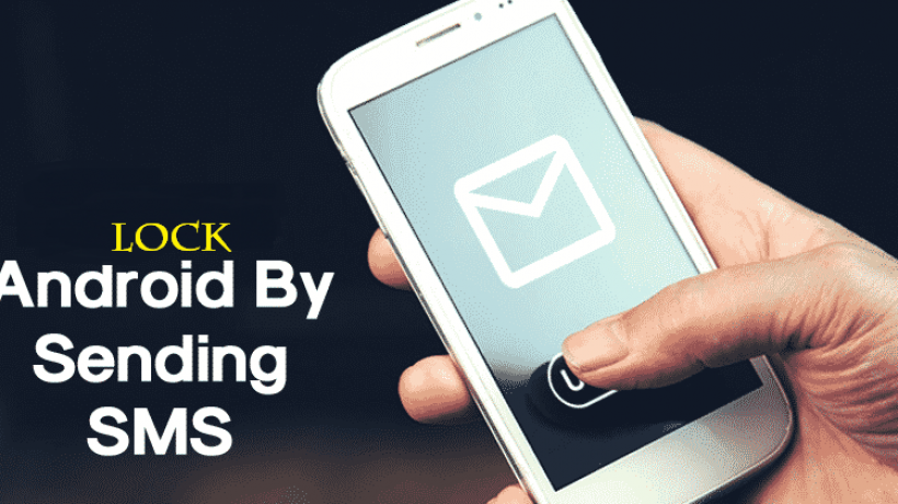 Remote phone locking tricks with an SMS