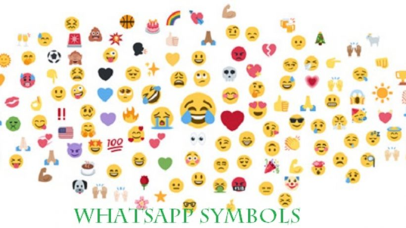 How to use special whatsapp symbols