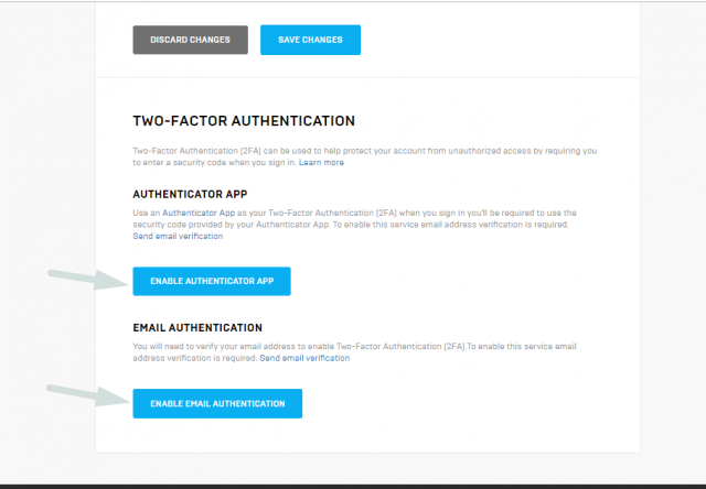 How to activate 2FA