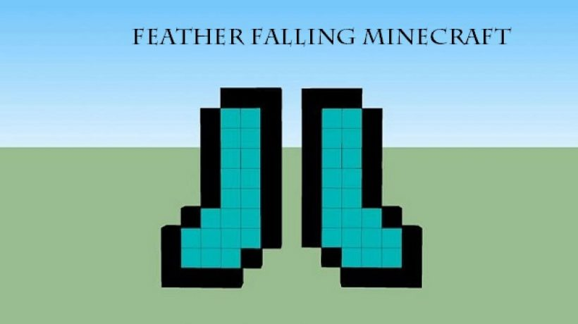 How to get feather falling Minecraft?