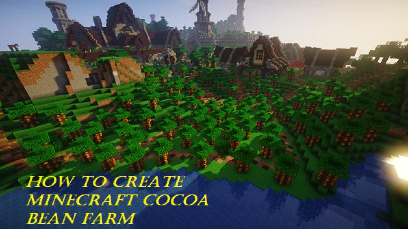 How to create Minecraft cocoa bean farm