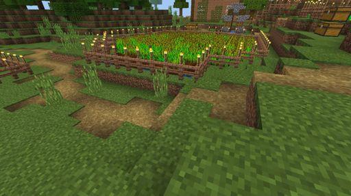 minecraft cocoa bean farm
