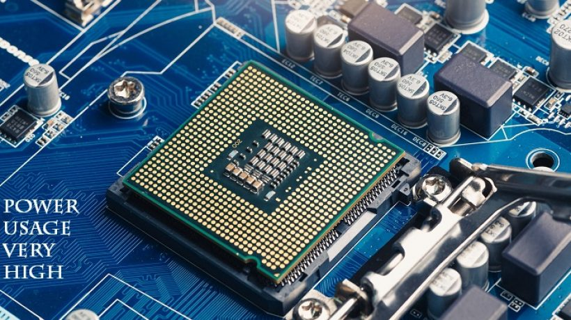 How to fix power usage very high in CPU